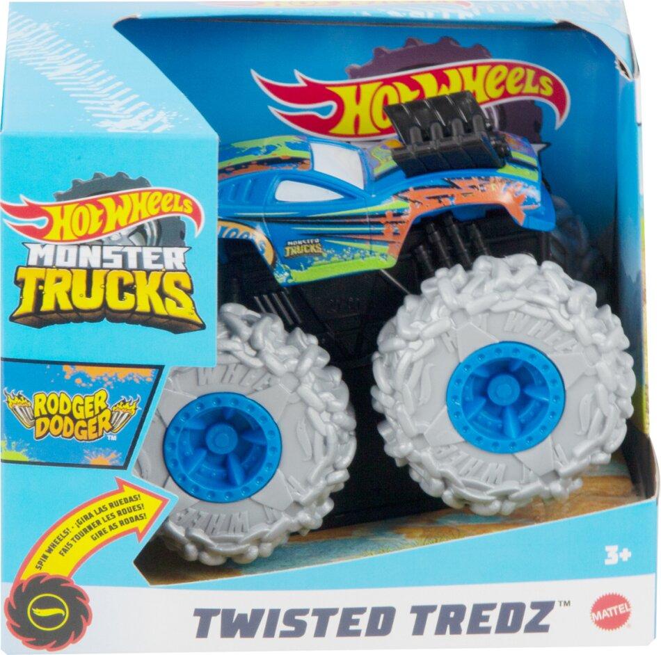 Hot Wheels - Hot Wheels Monster Trucks 1:43 Twisted Tredz Asrt