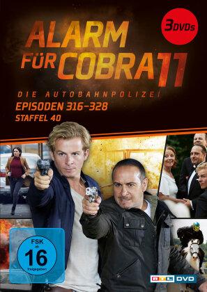 Alarm für Cobra 11 - Staffel 40 (3 DVDs)