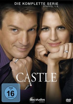 Castle - Die komplette Serie: Staffel 1-8 (45 DVDs)