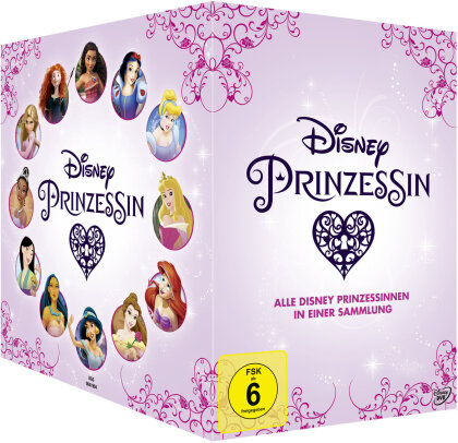 Disney Prinzessinnen Box (12 DVDs)