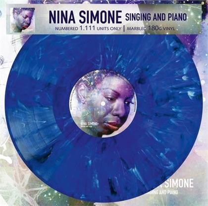Nina Simone - Singing and Piano (Marbled Vinyl, LP)