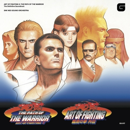 SNK Neo Sound Orchestra - Art Of Fighting III & Path Of The Warrior - OST (LP)