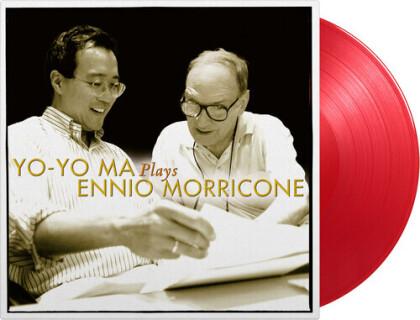 Ennio Morricone (1928-2020) & Yo-Yo Ma - Plays Ennio Morricone (2021 Reissue, Gatefold, Limited to 2000 Copies, Music On Vinyl, Red Vinyl, 2 LPs)