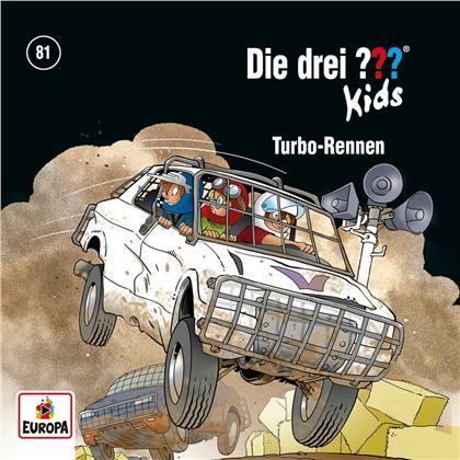 Die Drei ??? Kids - 081/Turbo-Rennen
