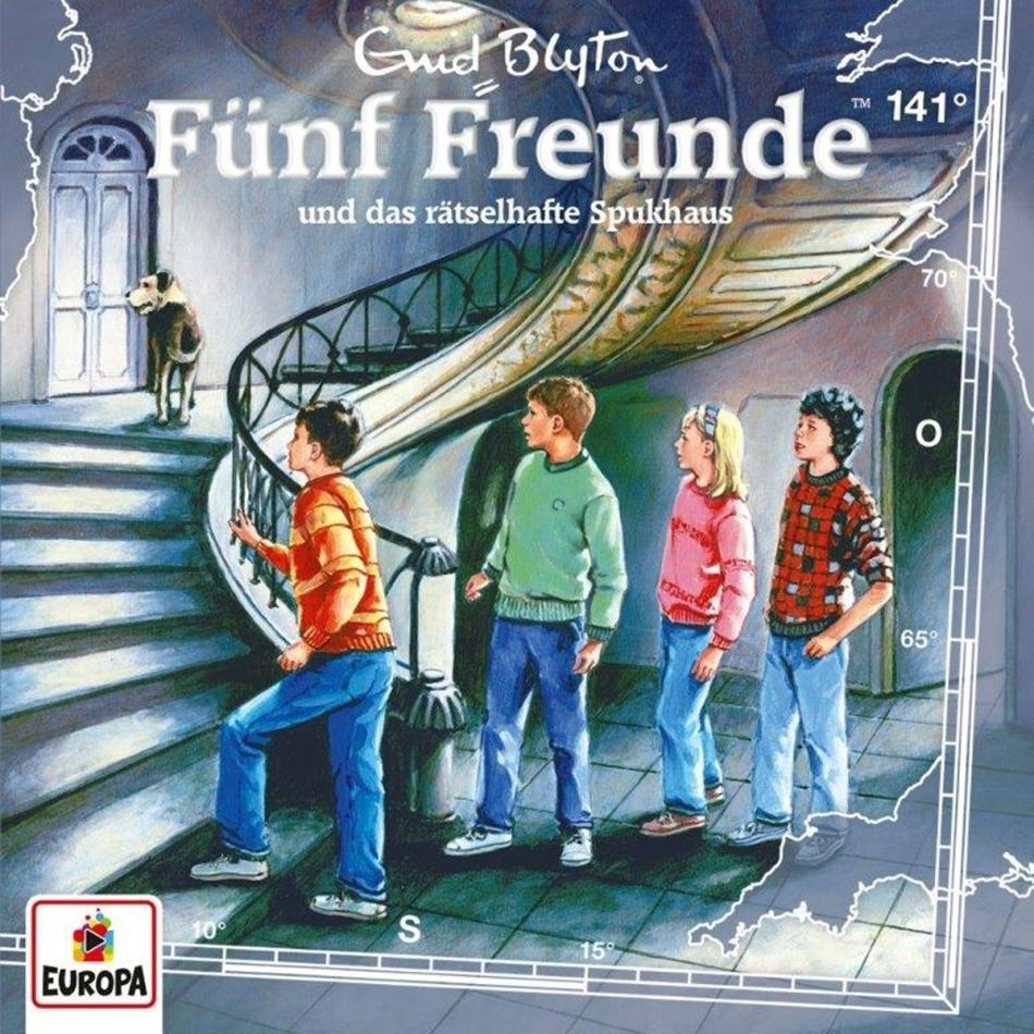 Fünf Freunde - 141/und das rätselhafte Spukhaus