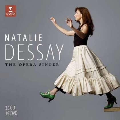Claude Debussy (1862-1918), Léo Delibes (1836-1891), Gaetano Donizetti (1797-1848), Georg Friedrich Händel (1685-1759), Wolfgang Amadeus Mozart (1756-1791), … - The Opera Singer (Box, 33 CDs + 19 DVDs)