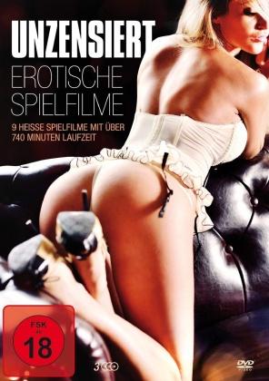 Unzensiert - Erotische Spielfilme (3 DVDs)