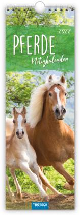 Pferde 2022 - Notizkalender