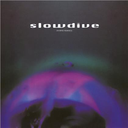 """Slowdive - 5 EP (In Mind remixes) (2021 Reissue, Music On Vinyl, Limited Edition, Blue Red Swirl Vinyl, 12"""" Maxi)"""
