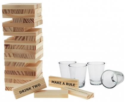 Tippie Tower - Trinkspiel mit 4 Gläsern