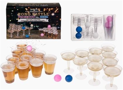Pong Battle: Prosecco vs. Beer - Trinkspiel
