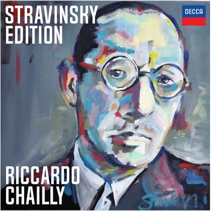 Igor Strawinsky (1882-1971) & Riccardo Chailly - Stravinsky Edition (Limited, 10 CDs)