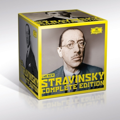 Igor Strawinsky (1882-1971) - Complete Works (Expanded Edition, Limited, Deutsche Grammophon, 30 CDs)