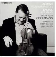 Bohuslav Martinu (1890-1959), Béla Bartók (1881-1945), Jakub Hrusa, Frank Peter Zimmermann & Bamberger Symphoniker - Violin Concertos 1 & 2, Solo Sonata (Japan Edition, SACD)