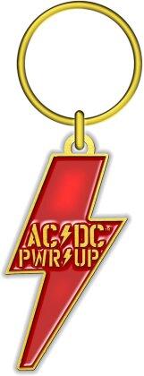 AC/DC Keychain - PWR-UP (Die-cast Relief)