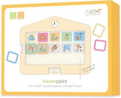 Clevere Paare - Clever Pairs, Lernspiel und Logikspiel (Kinderspiel)