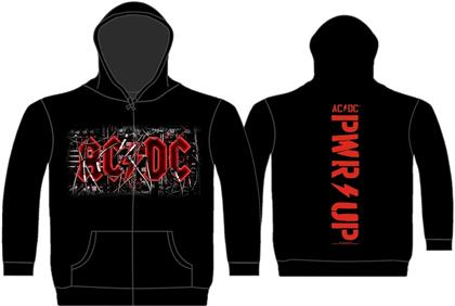 AC/DC - PWR Up Cables Zipper Hoodie