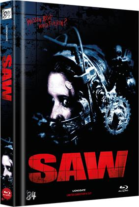 Saw (2004) (Cover G, Director's Cut, Limited Edition, Mediabook)