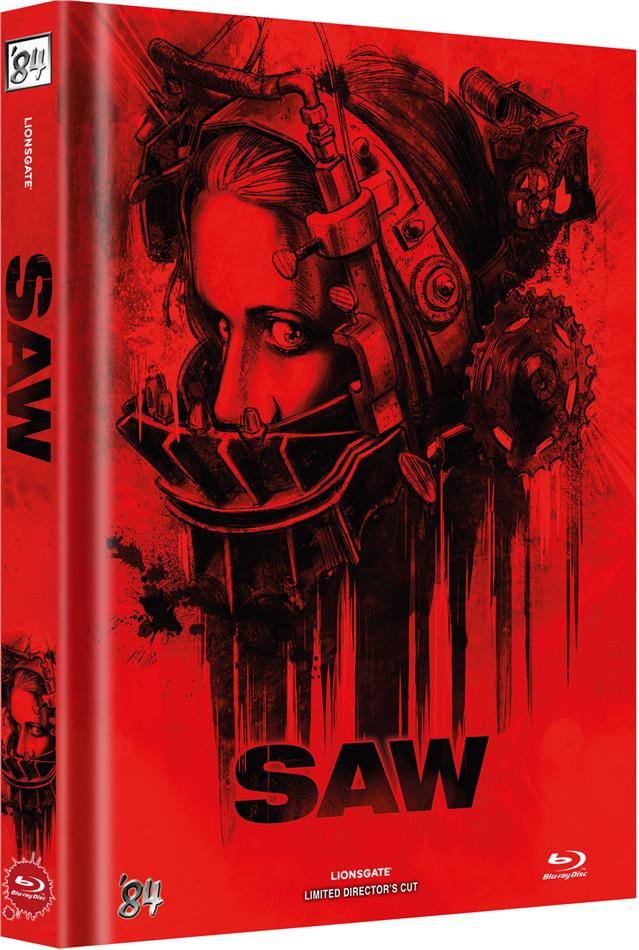 Saw (2004) (Cover C, Director's Cut, Limited Edition, Mediabook)