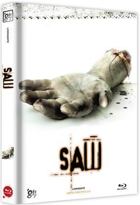 Saw (2004) (Cover D, Director's Cut, Edizione Limitata, Mediabook, Uncut)