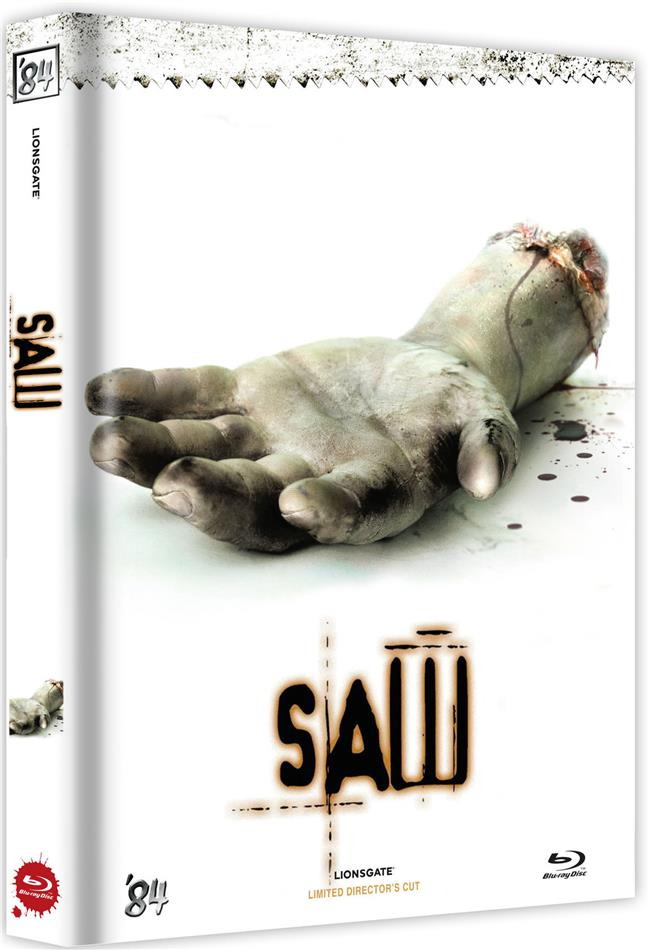 Saw (2004) (Cover D, Director's Cut, Limited Edition, Mediabook, Uncut)