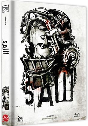 Saw (2004) (Cover E, Director's Cut, Limited Edition, Mediabook)