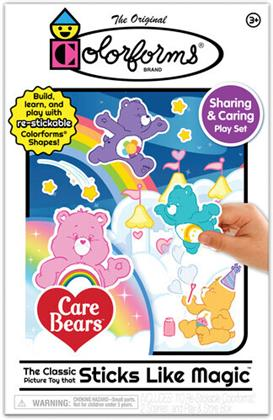Colorforms Care Bears Sharing & Caring Play Set