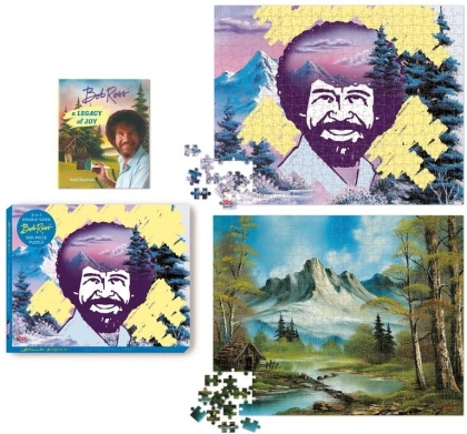 Bob Ross 2-in-1 - Double Sided 500-Piece Puzzle