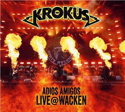 Krokus - Adios Amigos Live @ Wacken (CD + DVD)