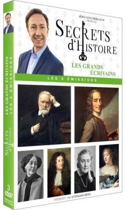 Secrets d'histoire - Les grands écrivains (3 DVDs)