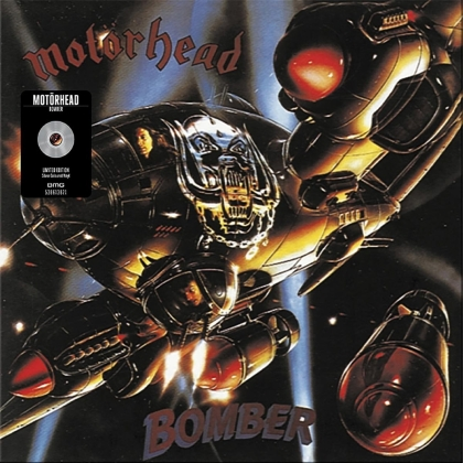 Motörhead - Bomber (2021 Reissue, Sanctuary Records, Limited Edition, Silver Vinyl, LP)