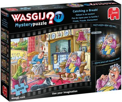 Puzzle Wasgij Mystery 17 - Friede Freude Eierkuchen,