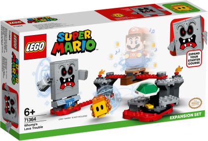 Wummps Lava-Ärger - Lego Super Mario,
