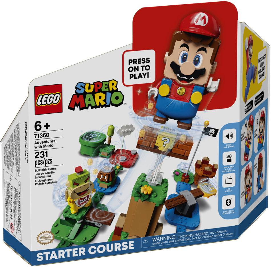 Abenteuer mit Mario Starter- - set, Lego Super Mario, App,