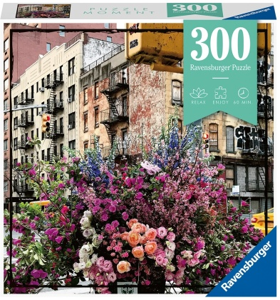 Flowers in New York - 300 Piece Puzzle