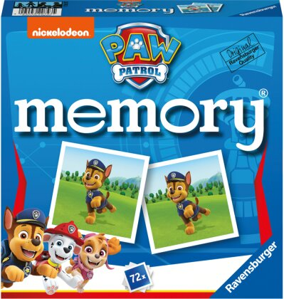 Paw Patrol memory® (Kinderspiel)