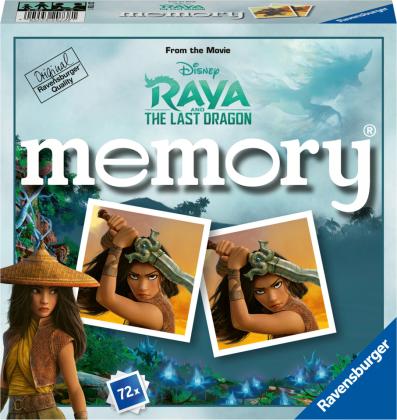 Disney Raya and the last Dragon memory® (Kinderspiel)