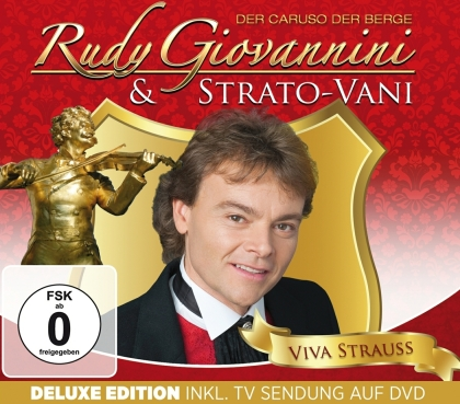 Rudy Giovannini - Viva Strauss & Strato-Vani (Deluxe Edition, CD + DVD)