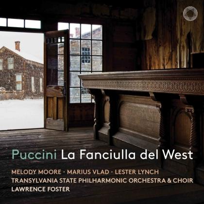 Giacomo Puccini (1858-1924), Lawrence Foster, Melody Moore & Transylvania State Philharmonic Orchestra - La Fanciulla del West (2 CDs)