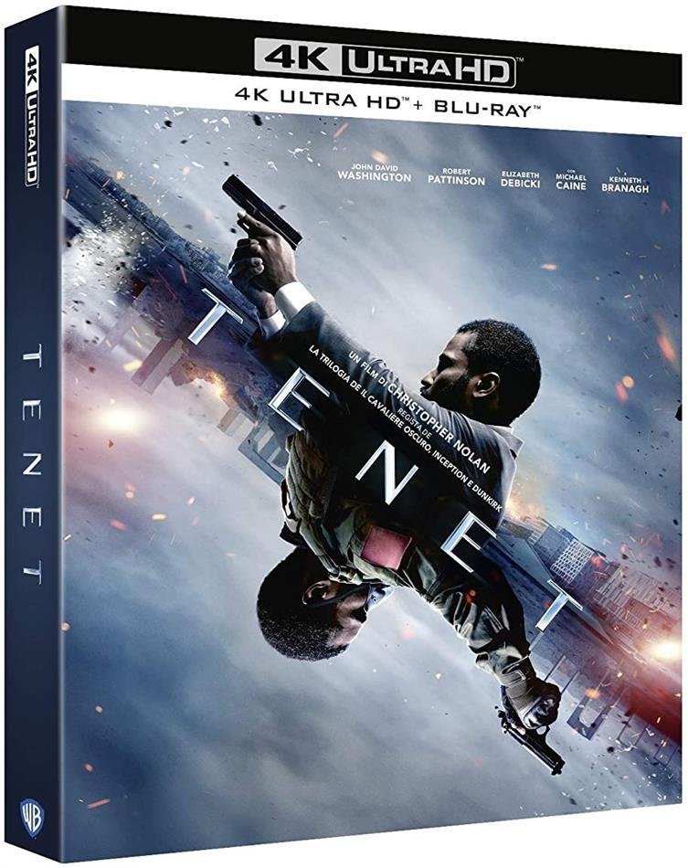 Tenet (2020) (4K Ultra HD + 2 Blu-rays)