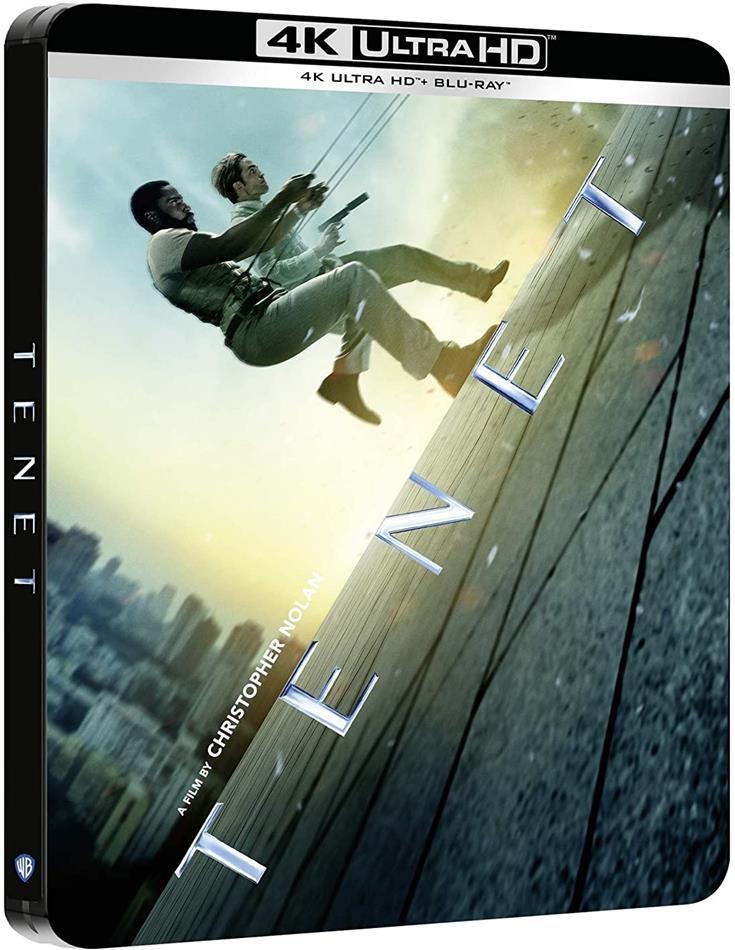 Tenet (2020) (Steelbook, 4K Ultra HD + 2 Blu-rays)
