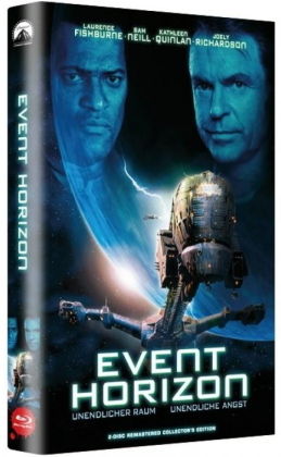 Event Horizon (1997) (Grosse Hartbox, Limited Edition, Blu-ray + DVD)