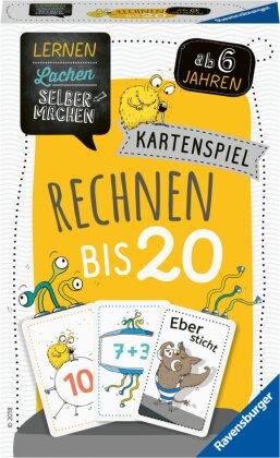 Ravensburger 80349 - Lernen Lachen Selbermachen: Rechnen bis 20, Kinderspiel für 1-5 Spieler, Lernspiel ab 6 Jahren, Mathematik