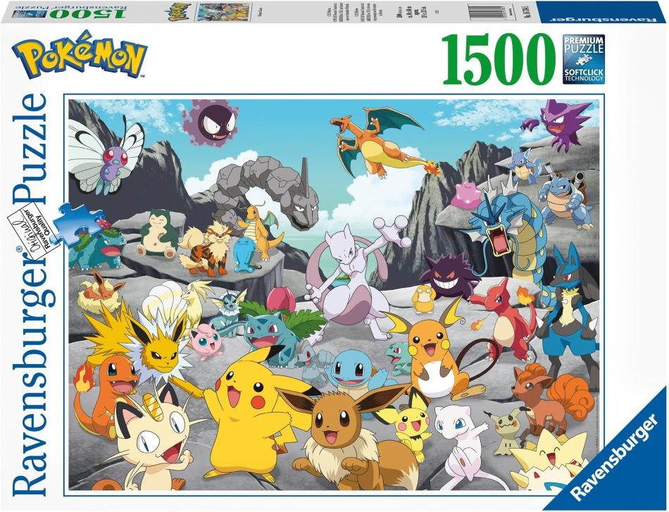 Pokémon Classics - 1500 Teile Puzzle