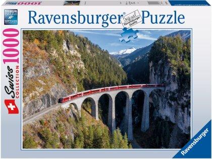 Landwasserviadukt - 1000 Teile Puzzle
