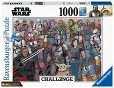 Star Wars The Mandalorian: Baby Yoda - 1000 Teile Challenge Puzzle