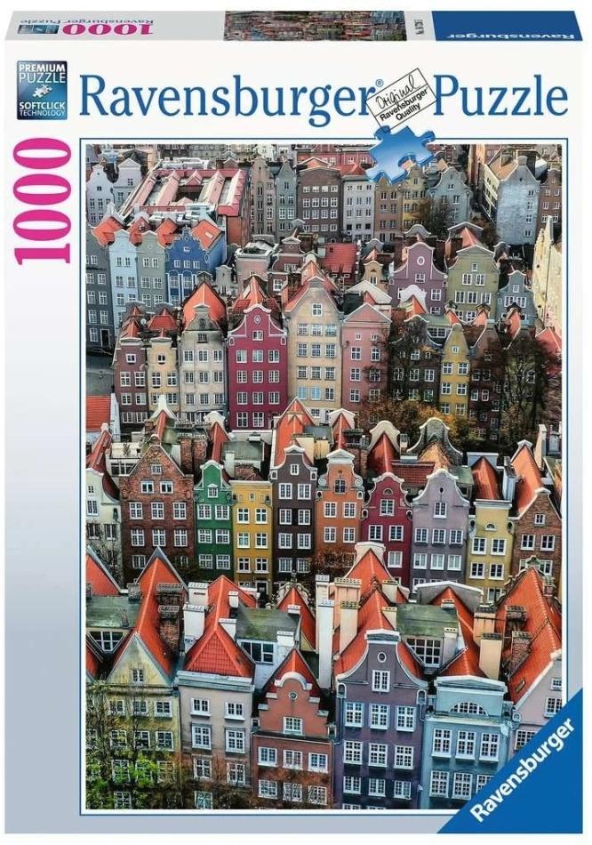 Danzig in Polen - 1000 Teile Puzzle
