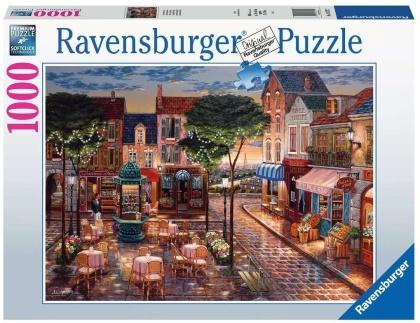 Gemaltes Paris - 1000 Teile Puzzle