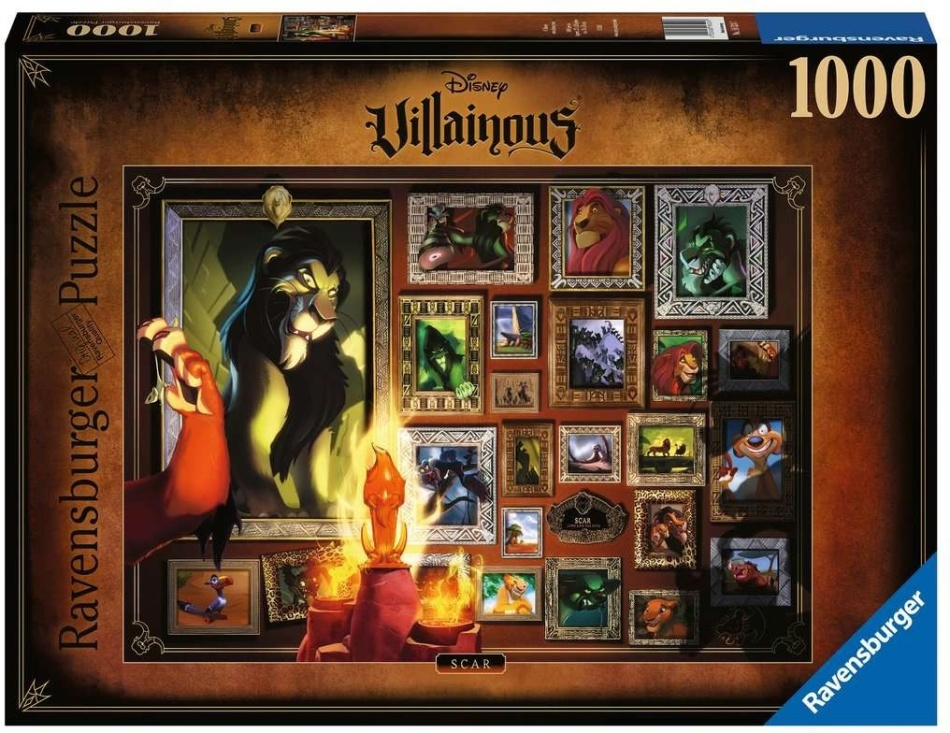 Disney Villainous: Scar - 1000 Teile Puzzle