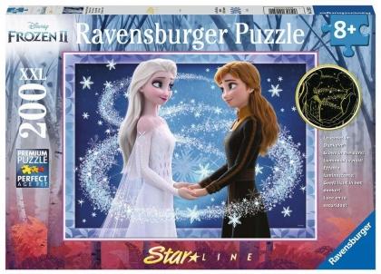 Bezaubernde Schwestern - 200 XXL-Teile Glow in the Dark Puzzle